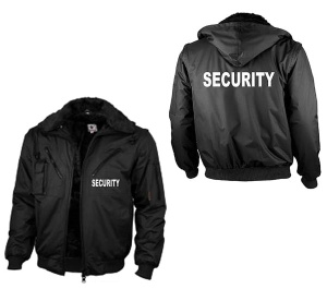 Security Winterjacke Übergangsjacke