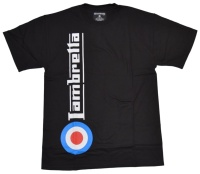 Lambretta T-Shirt Side Logo Target Print