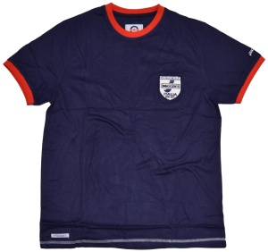 Lambretta Mens Innocenti Crew Neck Ringer T-Shirt
