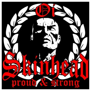 Aufkleber Skinhead Proud and Strong