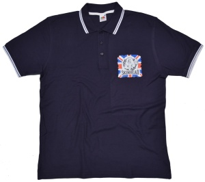 Polo-Shirt Skinhead A Way Of Life Union Jack K34