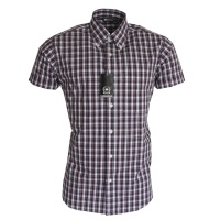 RELCO London Button Down Kurzarmhemd