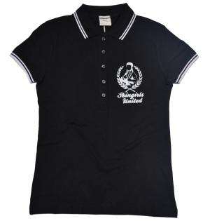 Damen Poloshirt Skingirls united K61