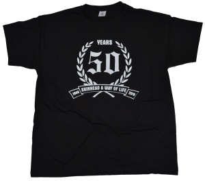T-Shirt 50 Years Skinhead A Way Of Life G421