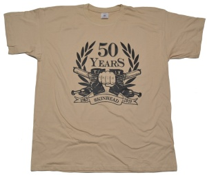 T-Shirt 50 Years Skinhead II G426
