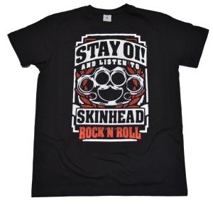 T-Shirt Skinhead Stay Oi RU
