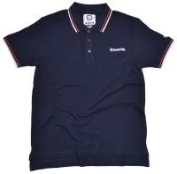 Lambretta Polo-Shirt Tip klassisches Poloshirt im britischen Modstyle mit Kontraststreifen