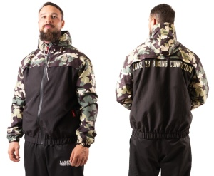 Boxing Connection Label 23 Windjacke Camo Weapon