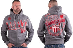 Boxing Connection Label 23 Kapuzenjacke World of fighting