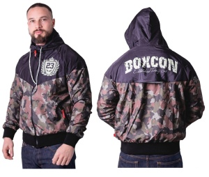 Boxing Connection Label 23 Windjacke Boxing camo