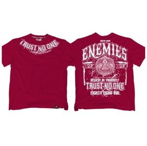 Ansgar Aryan T-Shirt Trust no one fällt klein aus