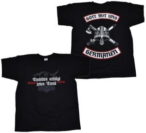 T-Shirt Gott mit uns Germanen