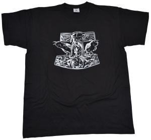 Vikinger Motiv T-Shirt Thorhammer G421