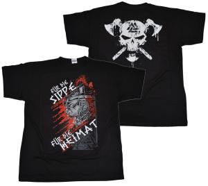 T-Shirt Für die Sippe für die Heimat