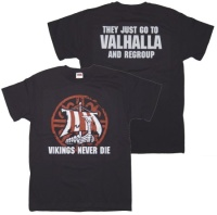 T-Shirt Vikings never die G660