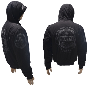 YAKUZA Ink Winter Jacke mit Kapuze Trad of Kings Winter