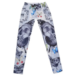 Yakuza Ink Damen Leggins Butterfly