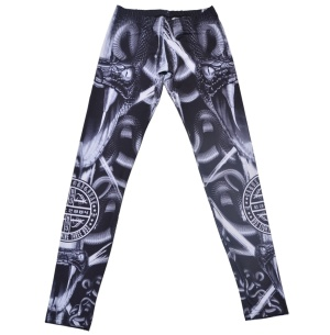 Yakuza Ink Damen Leggins Snake II