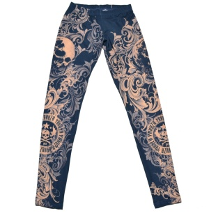 Yakuza Damen Leggings Rauke LEB7135
