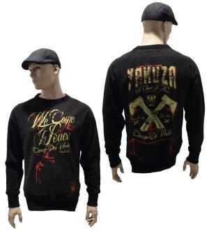 Yakuza Ink Sweatshirt We Come In Peace