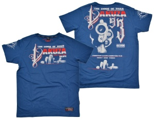 Yakuza Ink T-Shirt Havoc in blau