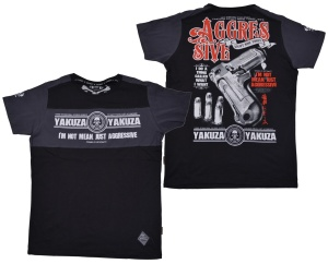 Yakuza Ink T-Shirt Aggresive Two Face
