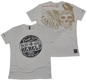 Yakuza Premium T-Shirt Burning Rebels 2407